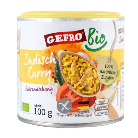 Gefro indiai curry fűszerkeverék 100g - bulkshop