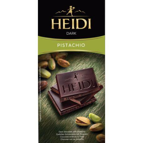 Étcsokoládé pisztáciás Heidi Dark Pistachio 80g bulkshop