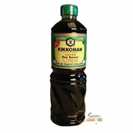 Kikkoman szójaszósz, csökkentett sótartalmú 1 liter