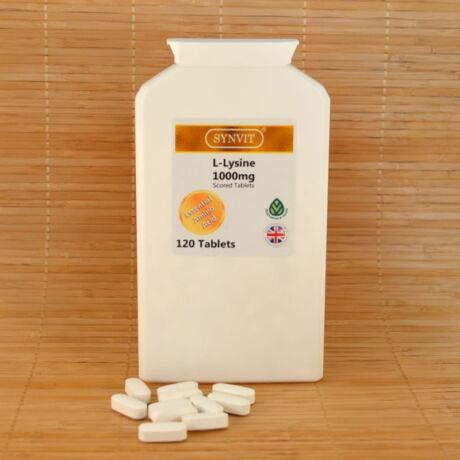 L-lizin 1000mg, 120db