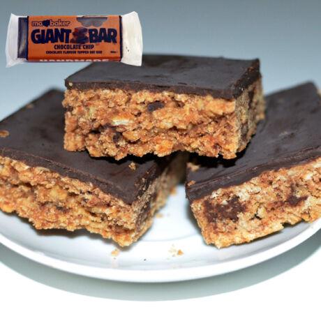 Óriás-Zabszelet csokidarabokkal, csokoládés bevonattal 100g