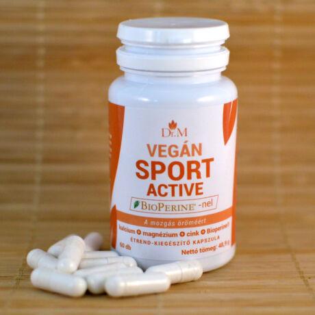 Sport Active 60db kapszula, Dr.M bulkshop