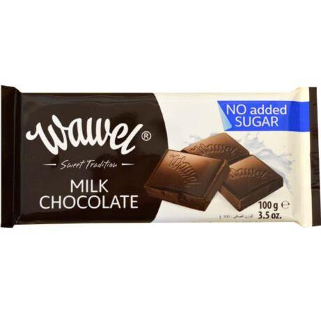 Tejcsokoládé cukormentes 100g