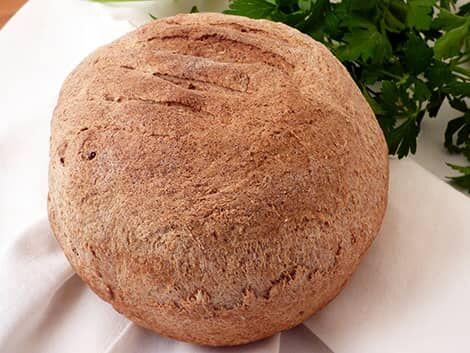 """""""Sonkával"""" töltött kenyér recept növényi alapú bulkshop"""