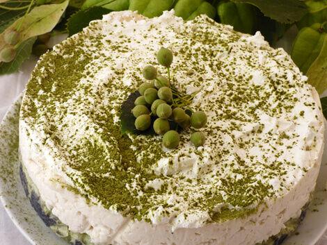 Matcha teás rizstorta vagy poharas desszert kókuszkrémmel vegán recept bulkshop plantbased növényi alapú