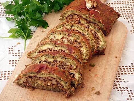Jóféle magvakkal töltött ünnepi rolád avagy töltött fasírt vegánul recept bulkshop