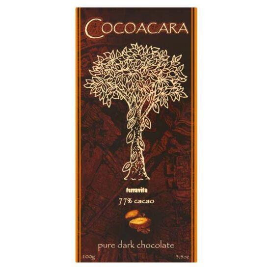 Cocoacara 77% étcsokoládé 100g
