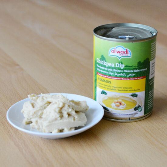 Hummus konzerv 400g (humusz)