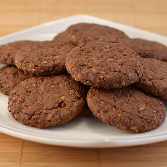Magas rosttartalmú keksz, 250g, Gran Cereale, kakaós